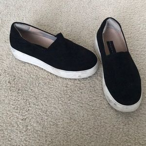 Steve Madden black shoes sz 6